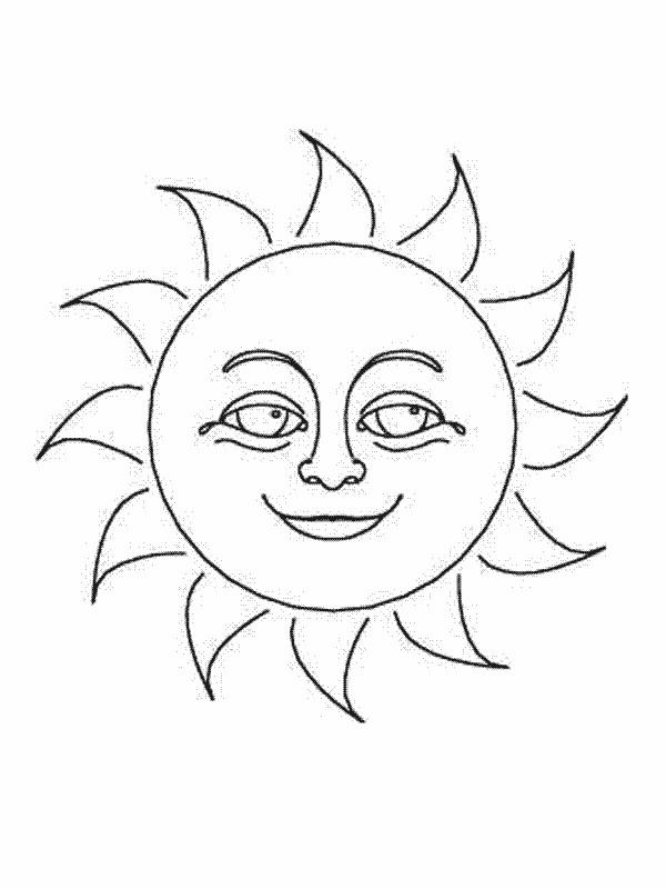 Coloriage le beau soleil dessin gratuit imprimer - Dessin de soleil a imprimer ...