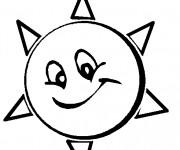 Coloriage Le Soleil animé