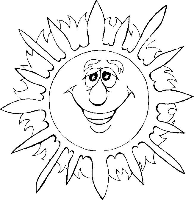 Coloriage et dessins gratuits Soleil 73 à imprimer
