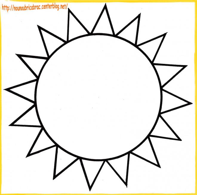 Coloriage soleil en couleur dessin gratuit imprimer - Dessin soleil rigolo ...