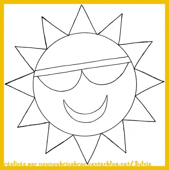 Coloriage soleil g om trique dessin gratuit imprimer - Dessin de soleil a imprimer ...