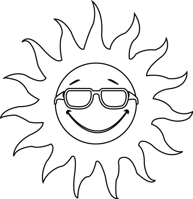 Coloriage et dessins gratuits Soleil te regarde à imprimer