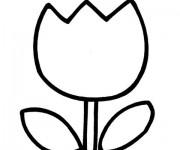 Coloriage tulipe 38 gratuit imprimer en ligne - Coloriage tulipe ...
