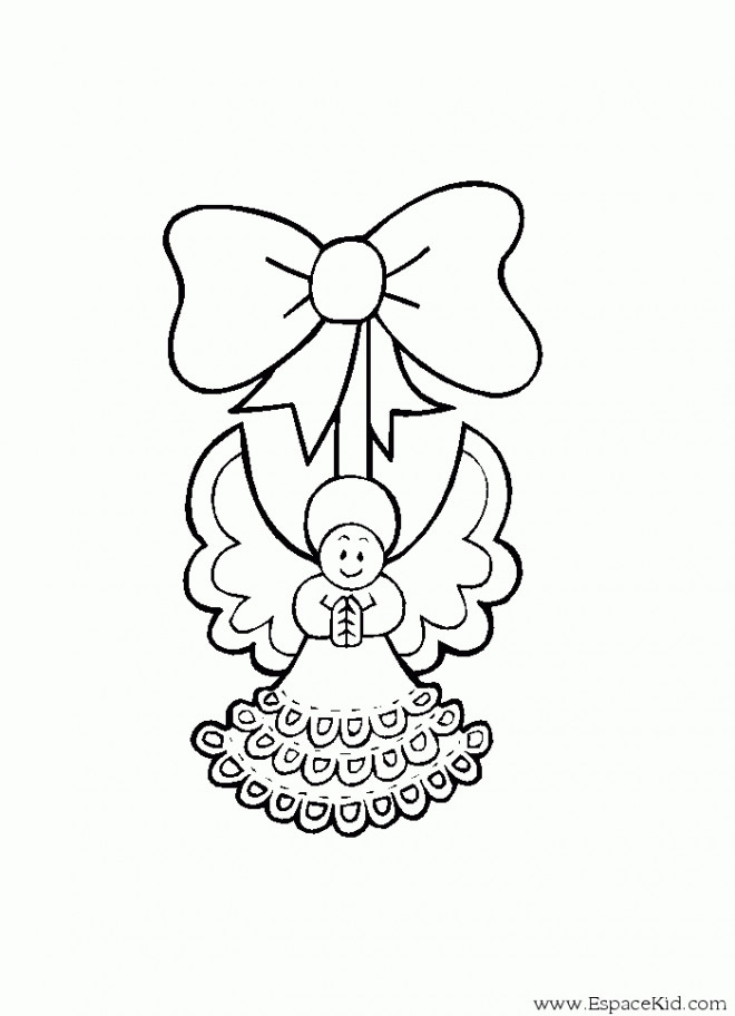 Coloriage et dessins gratuits Ange dessin à imprimer