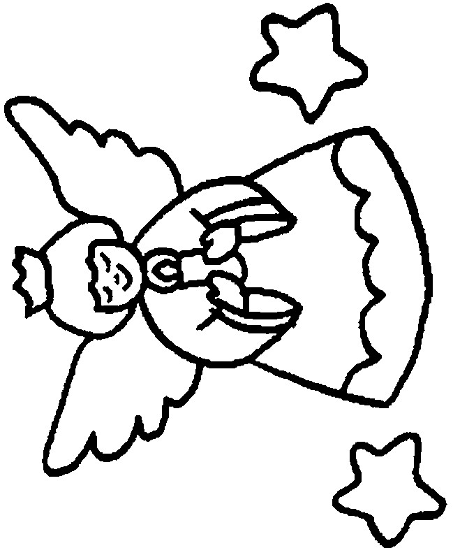 Coloriage et dessins gratuits Ange prière pour la paix à imprimer