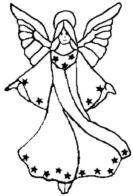 Coloriage et dessins gratuits Ange protecteur à imprimer