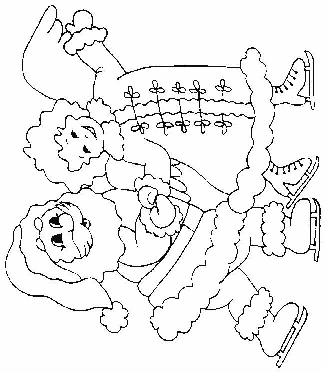 Coloriage et dessins gratuits Père noel à imprimer