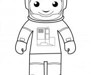 Coloriage dessin  Astronaute 14