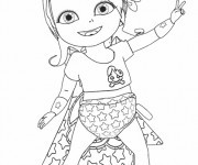 Coloriage dessin  Bebe Lilly 1