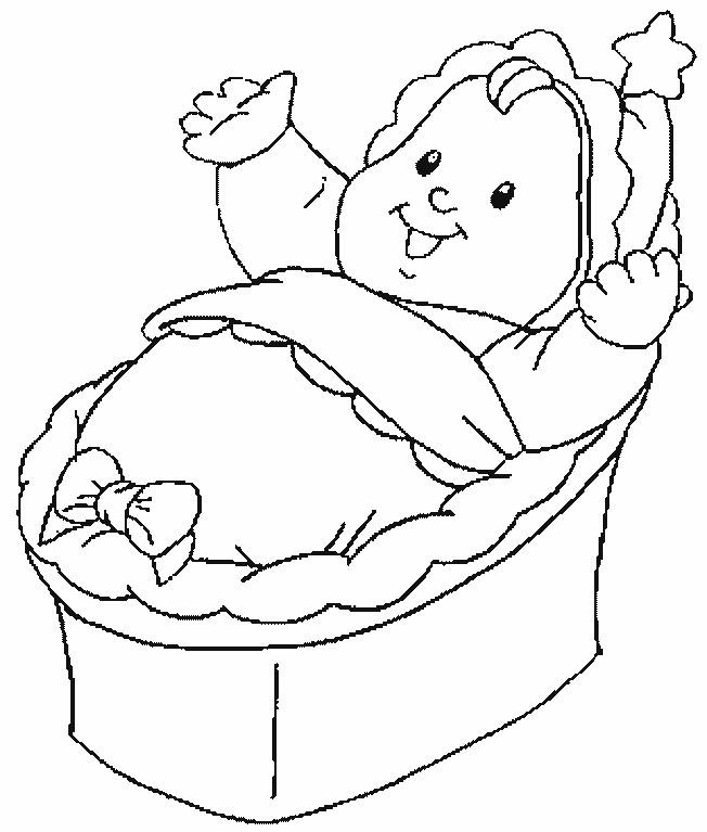 Coloriage et dessins gratuits Bébé trop mignon à imprimer