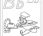 Coloriage dessin  Boulanger 14