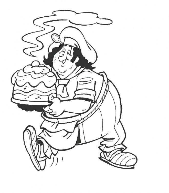 Coloriage et dessins gratuits Gâteau et pâtissier à imprimer