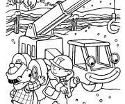 Coloriage et dessins gratuit Bob le bricoleur 10 à imprimer