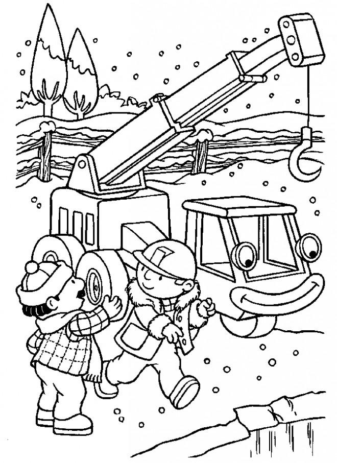 Coloriage et dessins gratuits Bob le bricoleur 10 à imprimer