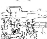 Coloriage et dessins gratuit Bob le bricoleur à imprimer