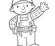 Coloriage et dessins gratuit Bob le bricoleur à imprimer gratuit à imprimer