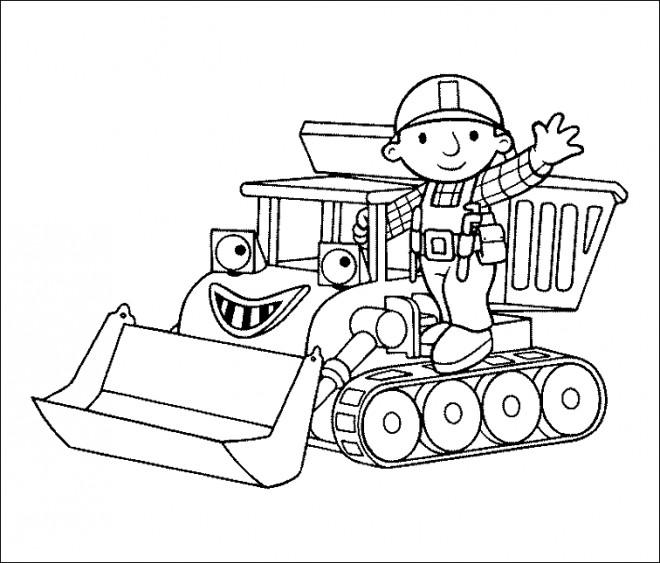Coloriage et dessins gratuits Bob Le Bricoleur à télécharger à imprimer