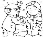 Coloriage et dessins gratuit Bob le bricoleur en ligne à imprimer