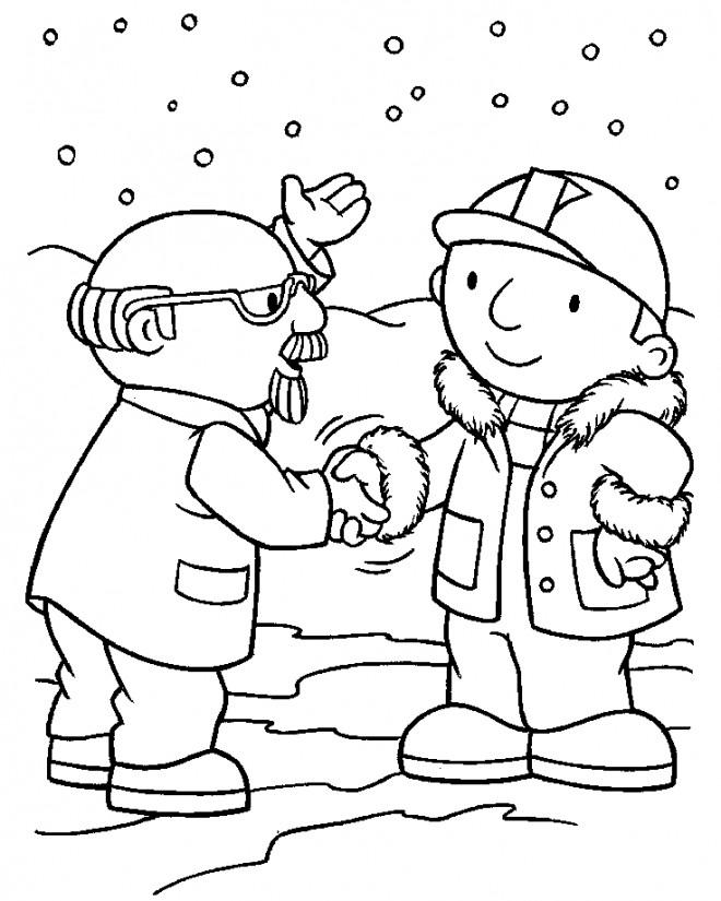 Coloriage et dessins gratuits Bob le bricoleur en ligne à imprimer