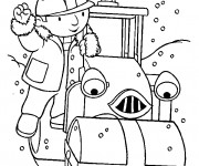 Coloriage et dessins gratuit Bob le bricoleur et Roulo à imprimer