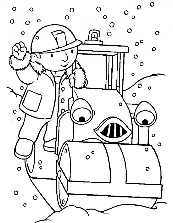 Coloriage et dessins gratuits Bob le bricoleur et Roulo à imprimer