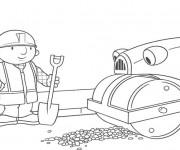 Coloriage et dessins gratuit Bob le bricoleur et Roulo à  colorier à imprimer