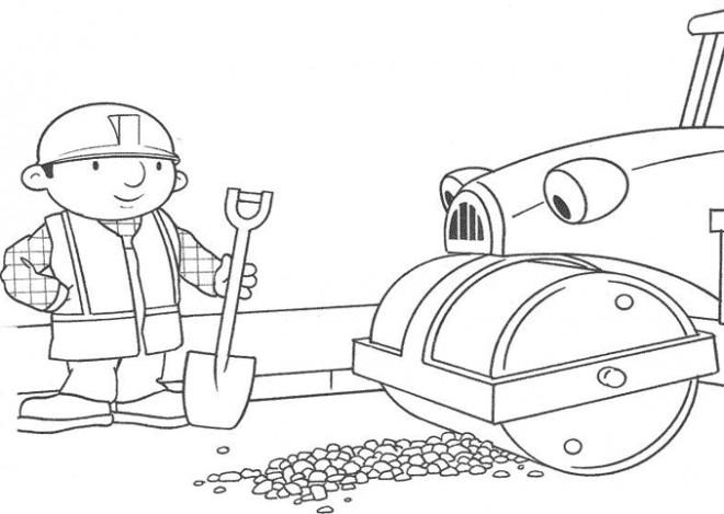 Coloriage et dessins gratuits Bob le bricoleur et Roulo à  colorier à imprimer