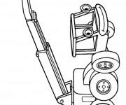 Coloriage et dessins gratuit Bob le bricoleur: Lofty sourit à imprimer