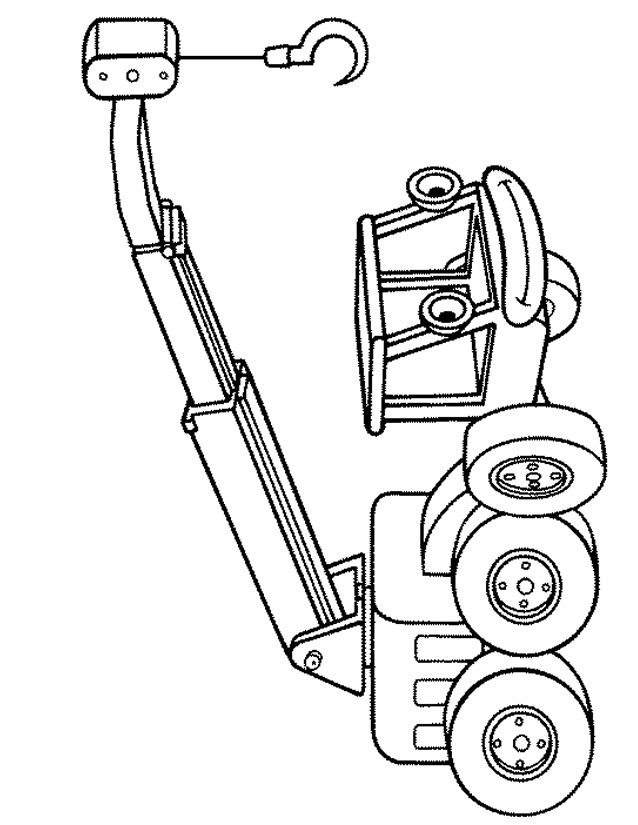 Coloriage et dessins gratuits Bob le bricoleur: Lofty sourit à imprimer