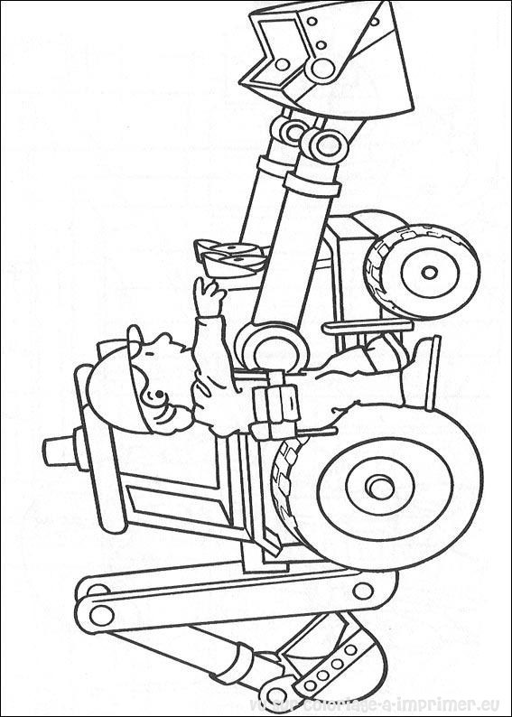 Coloriage et dessins gratuits Bricoleur simple à imprimer