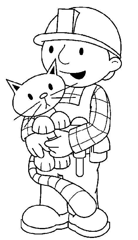 Coloriage et dessins gratuits Image Bob le bricoleur à imprimer