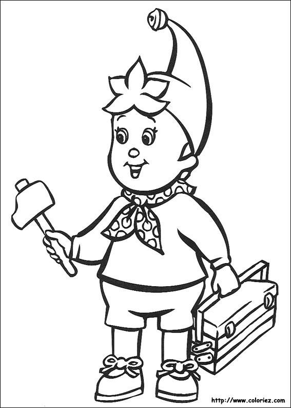 Coloriage et dessins gratuits Le Garçon Bricoleur à imprimer