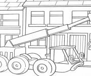 Coloriage et dessins gratuit Lofty  bob le bricoleur à imprimer