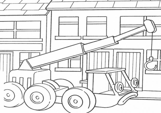 Coloriage et dessins gratuits Lofty  bob le bricoleur à imprimer