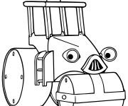 Coloriage et dessins gratuit Roulo Bob le bricoleur à imprimer