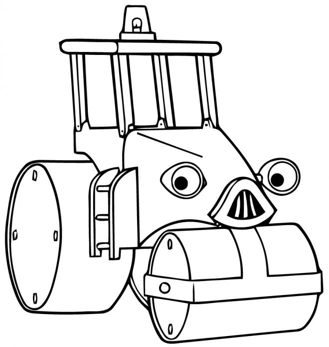 Coloriage et dessins gratuits Roulo Bob le bricoleur à imprimer