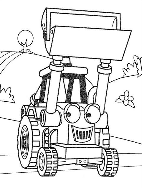 Coloriage Tracteur agricole pour enfant dessin gratuit à ...