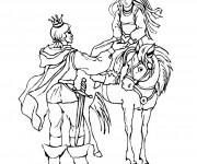 Coloriage dessin  Chevalier 10