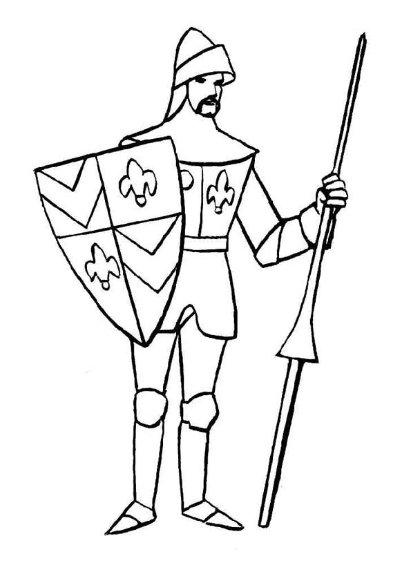 chevalier britannique facile