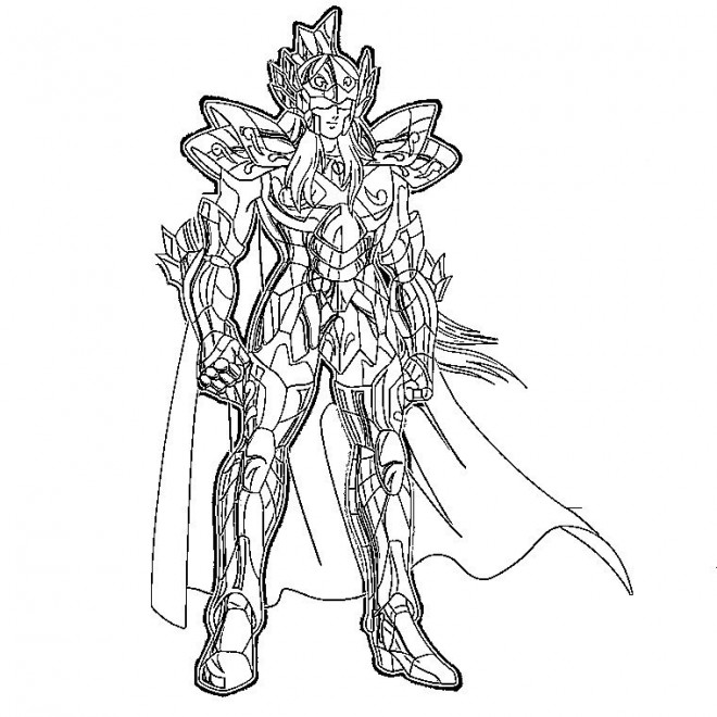 Coloriage chevalier dessin anim dessin gratuit imprimer - Coloriage hero factory ...