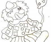 Coloriage Clown
