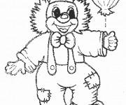Coloriage dessin  Clowns 11