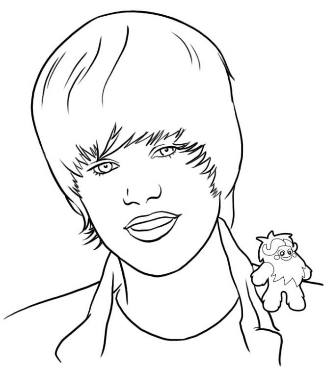Coloriage cheveux de justin bieber dessin gratuit imprimer - Dessin de coupe de cheveux ...
