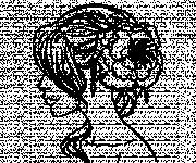 Coloriage et dessins gratuit Coupe de cheveux femme à imprimer