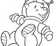Coloriage dessin  Astronaute 21