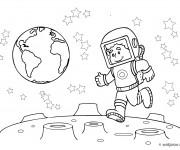 Coloriage dessin  Lune 60