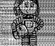 Coloriage et dessins gratuit Petite fille astronaute à imprimer