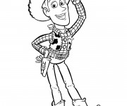 Coloriage Cowboy dessin animé