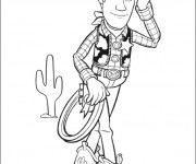 Coloriage Woody