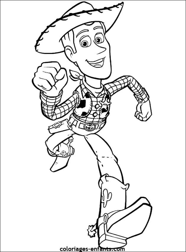 coloriage woody toy story dessin gratuit 224 imprimer